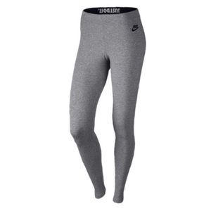 Gray Nike leggings ✔️